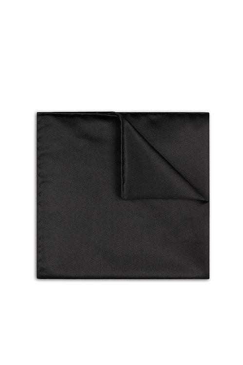 Pocket Square - Silk Black