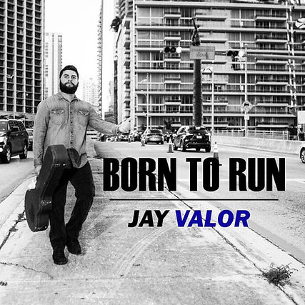 born to run, Jay Valor, south florida, miami,  black and white, guitar