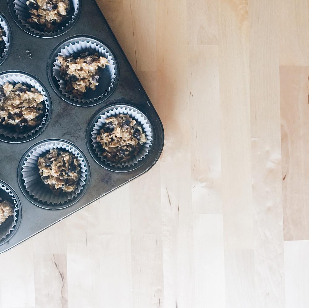 This Vast Life | GF Pumpkin Chocolate Chip Muffins
