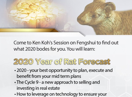 Feng Shui Talk 2020 - Breaking New Ground in the Year of the Metal Rat.