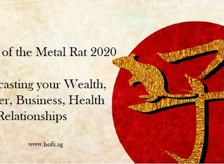 Your Personal Forecast for 2020 Year of Metal Rat