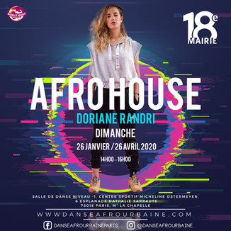 Stage  Doriane AFROHOUSE 26 JANV 26 AVR P