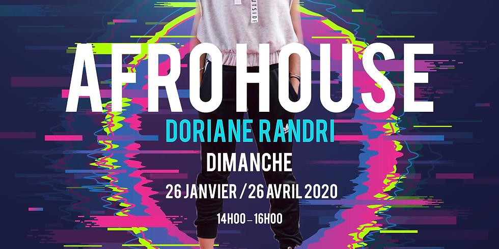 Stage d'afrohouse par Doriane Randri (studio MRG)