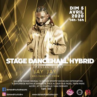 Stage de dancehall hybride par Jay Jay