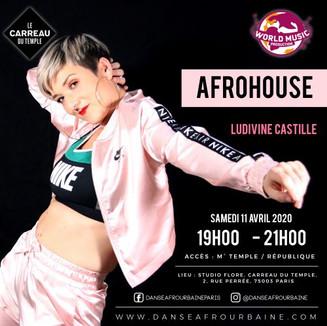 Ludivine Afrohouse  Carreau du Temple 11