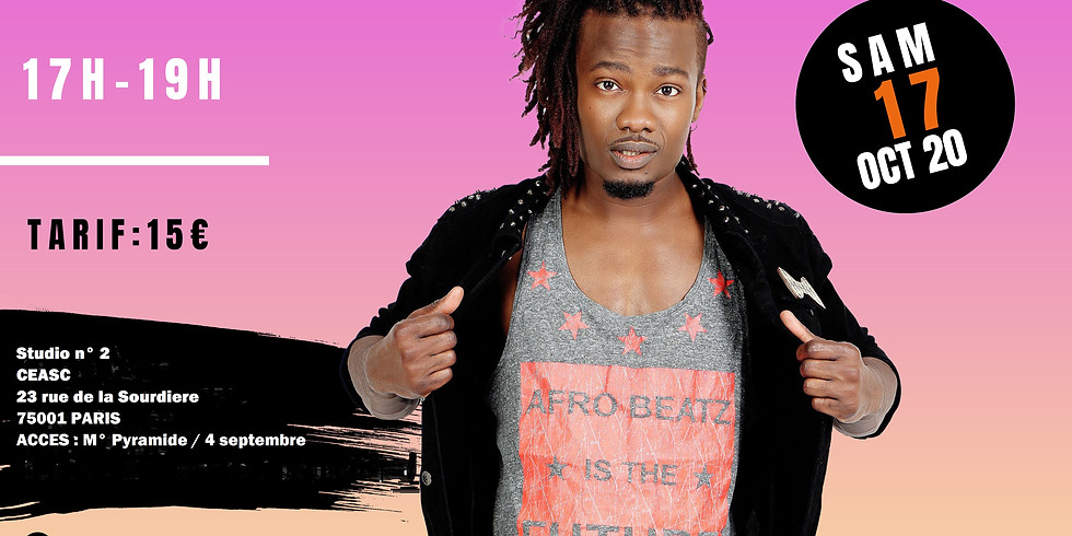 Stage d'afrodance avec Lionel Vero