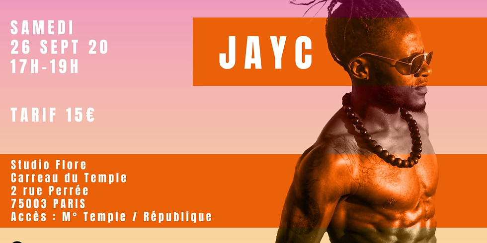 Stage d'Afrodancehall avec JAY C de ALLin / Invictus Crew