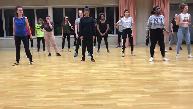 Workshop d'afrodancehall par Jay C Val