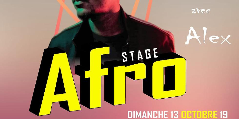 Stage de danse Afro par Alex