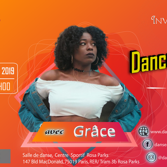 Flyer Grace dancehall 16 nov Rosa park r