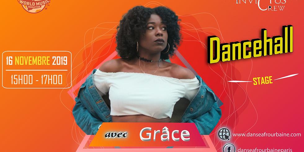 Stage de dancehall par Grâce