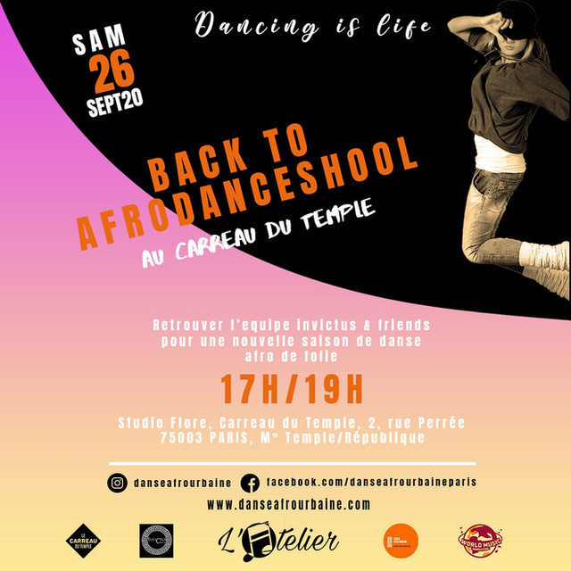 Back to afrodance  school 2