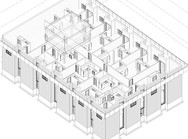 Apartment building restore and modification
