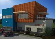AMES 1 - new construction company headquarters
