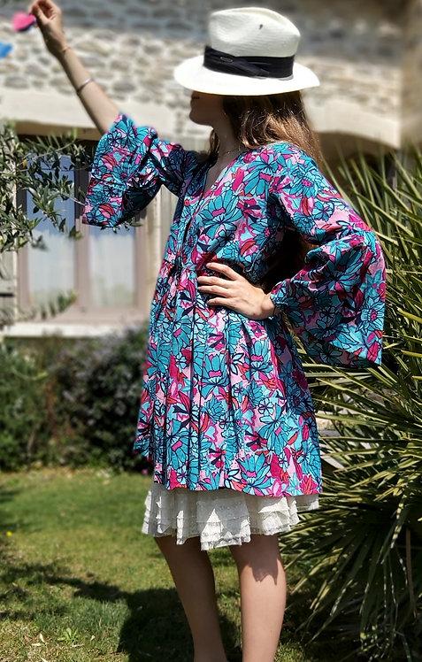 Robe Emma turquoise