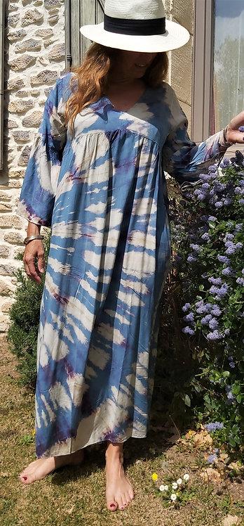 Robe Cyclades bleue