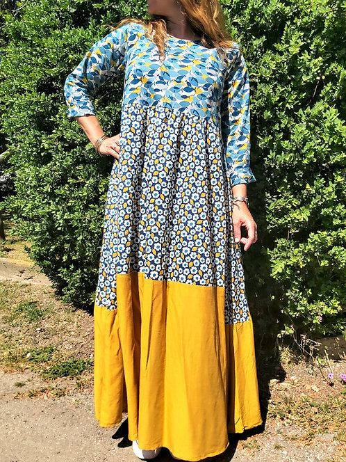 Robe Freya bleue