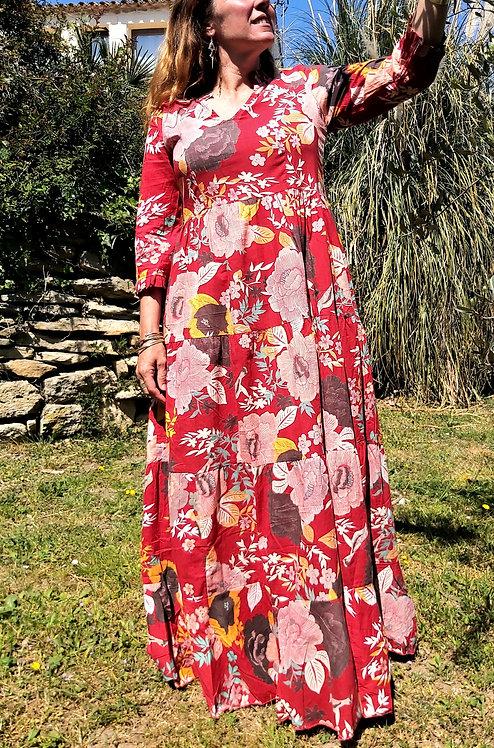 Robe Angélique rouge