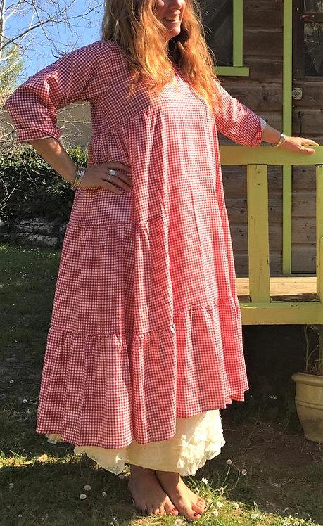 Robe Mum rouge