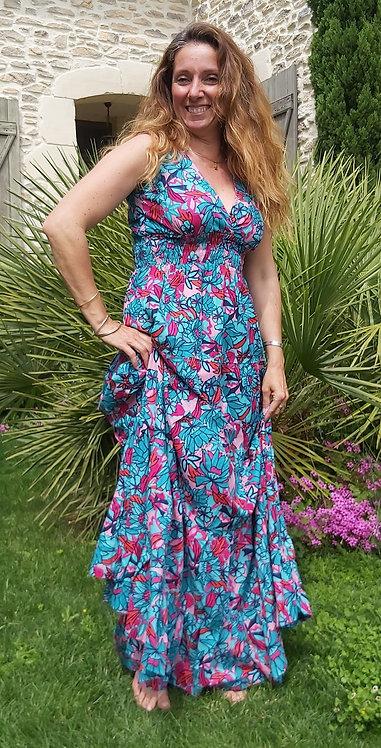 Robe Leia turquoise