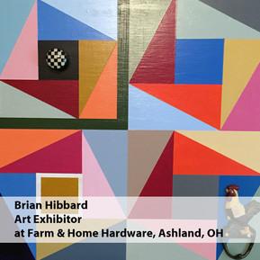 Brian Hibbard Art Exhibitor