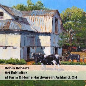 Robin Roberts Art Exhibitor