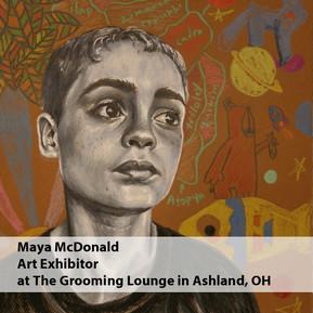 Maya McDonald Art Exhibitor