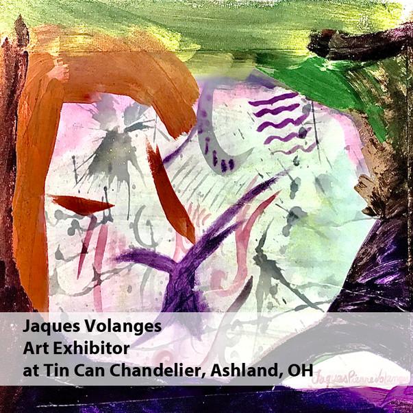 Jaques Volanges Art Exhibitor