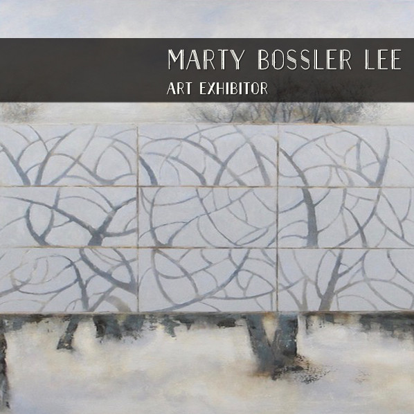Marty Bossler Lee, painting