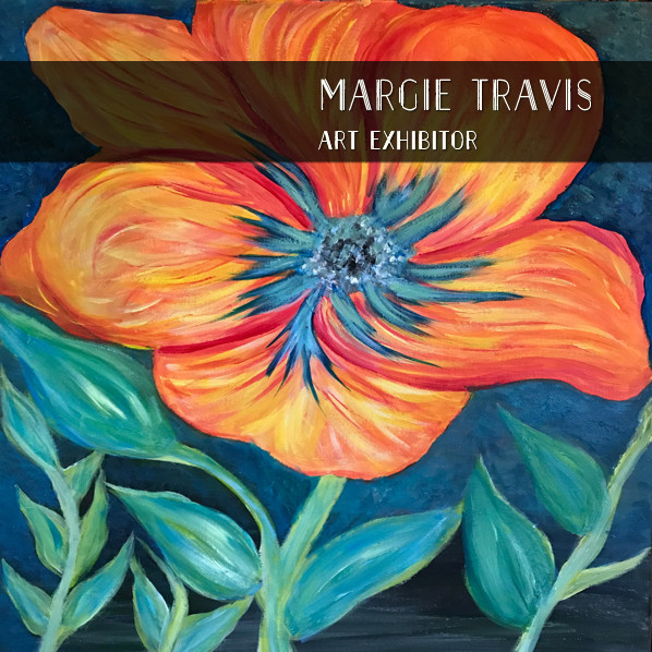 Margie Travis, painting