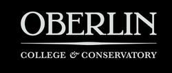 Oberlin logo whiteonblack