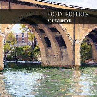 Robin Roberts painting