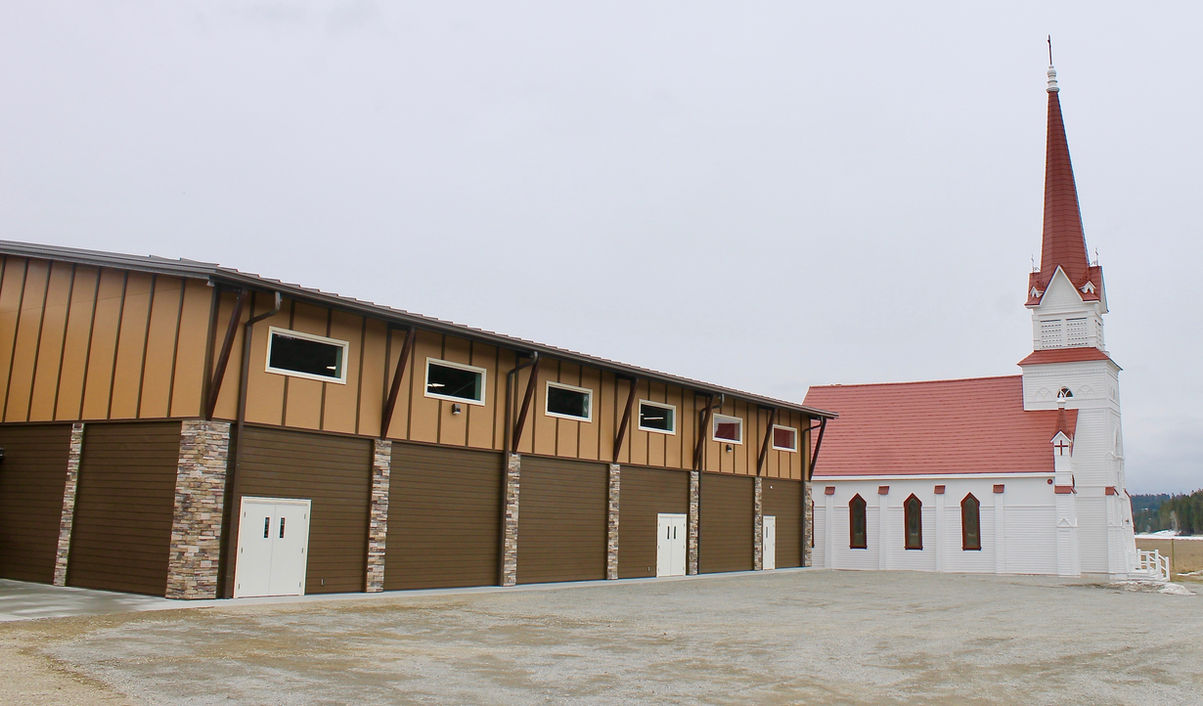 Aq'amnik School and Gymnasium