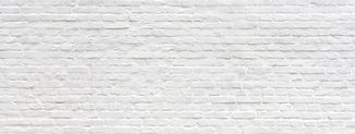 White brick wall texture panoramic . Home and office design backdrop. Painted bricks wall.