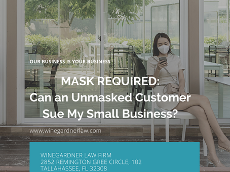 Can you ask customers to wear a mask when they come in to your small business?