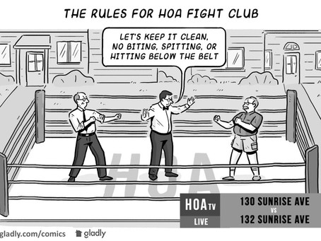 The first rule of fight club is...