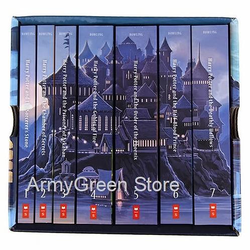 7 Books Box Set J.K. Rowling Harry Potter Book Collection Series Commemorati