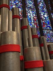 Organ pipes high altar window.HEIC