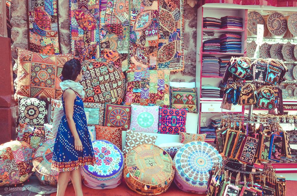 textile market in Deira
