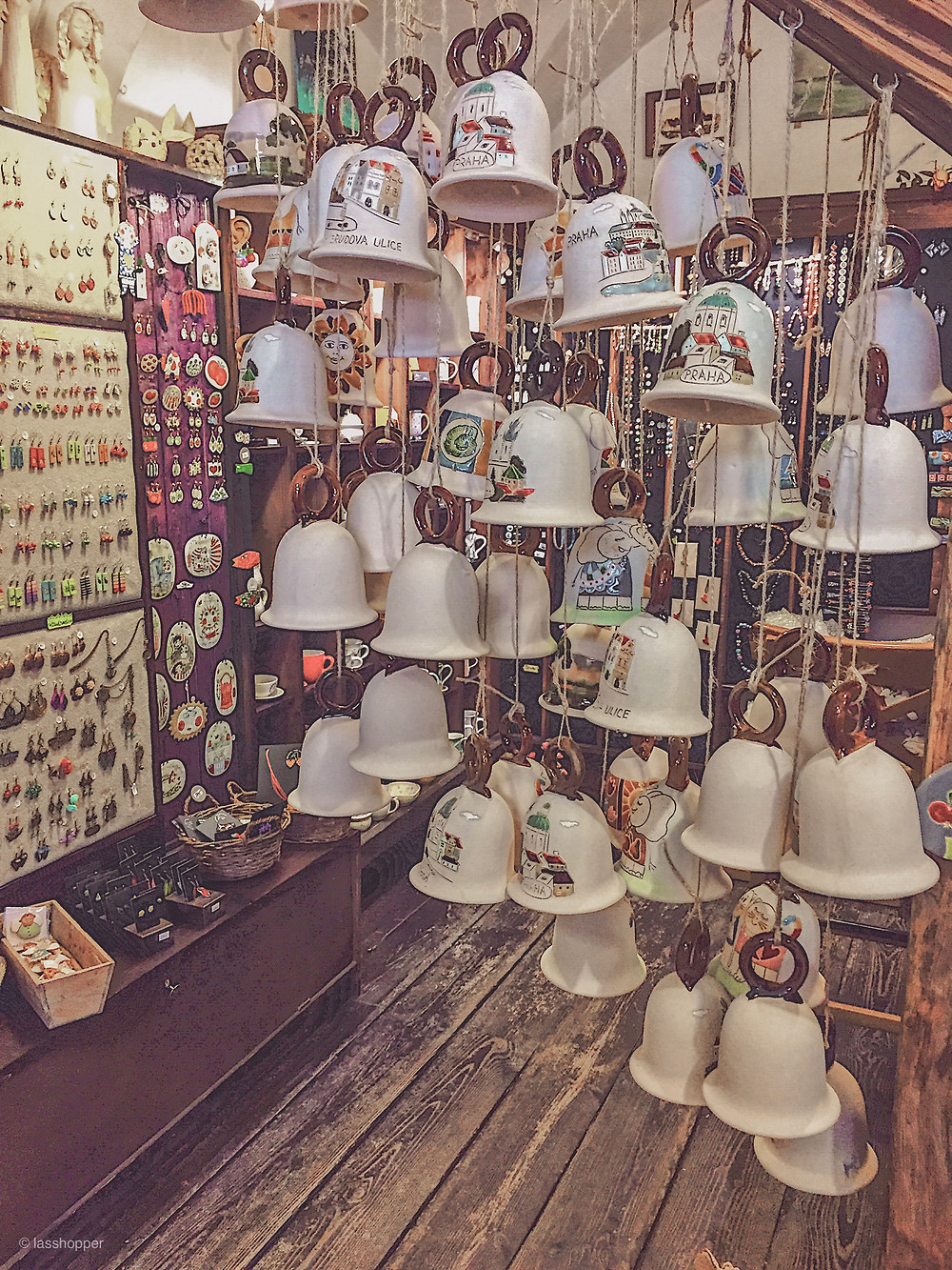 The souvenir shop