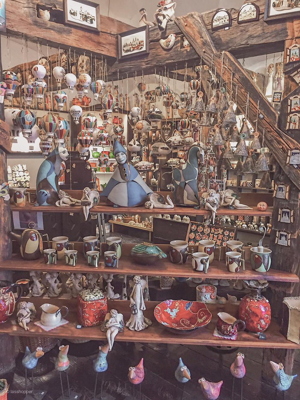 Prague souvenir shop
