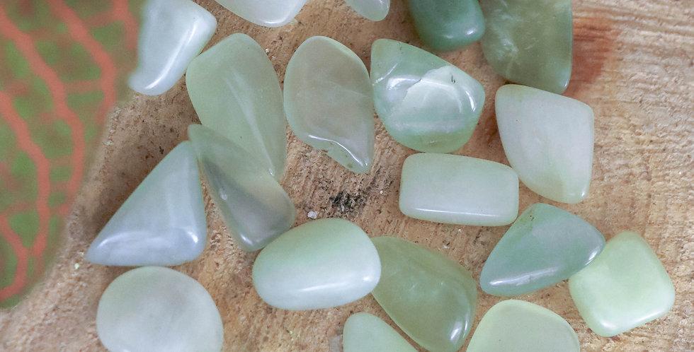 Jade Verde Rolada 1 a 2 cm
