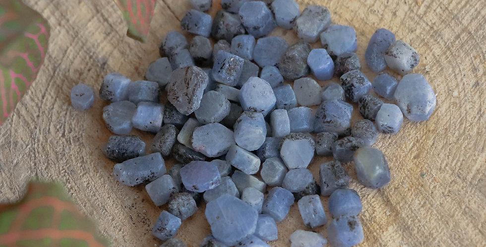 Safira em Bruto 0.5 a 1 cm