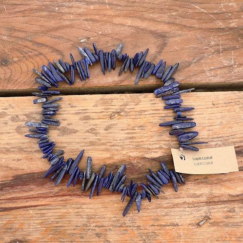 Fio Lápis-Lazuli Cacalho Largo
