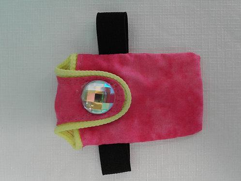 Liz Lira pink wallet