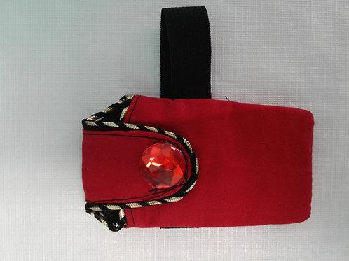Liz Lira red wallet