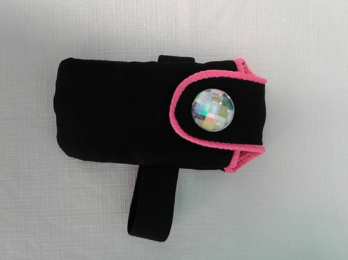 Black wallet with Pink