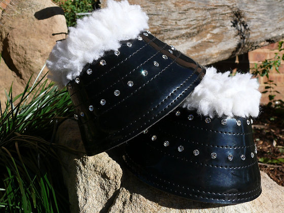 Bling Bell Boots- Black
