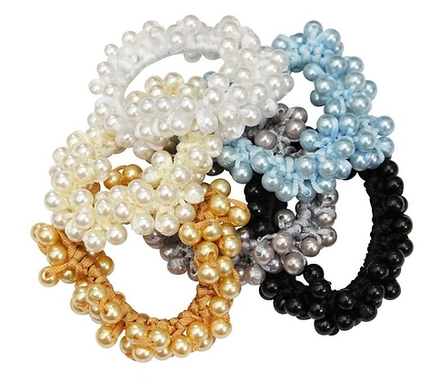 Pearl Collection Scrunchie