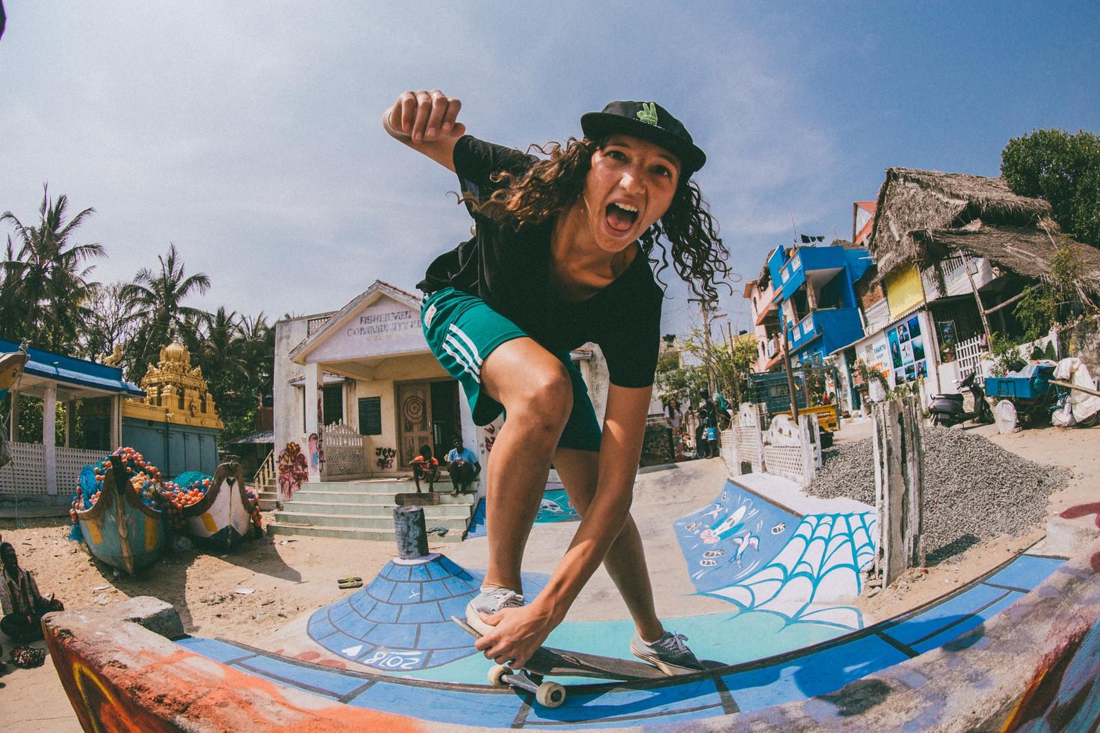 e5c611d08e9c9b Atita Verghese   Lizzie Armanto  Power Of Girls Skateboarding In India